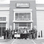 New Pilot Travel Center stages ribbon cutting ceremony